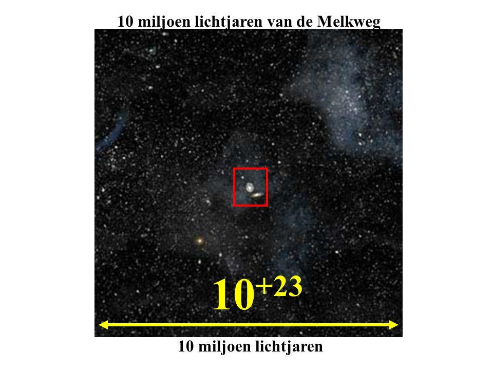 10 miljoen lichtjaren van de Melkweg