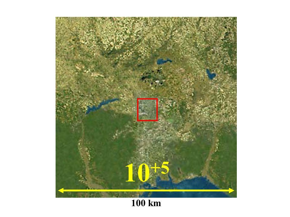 10+5 100 km