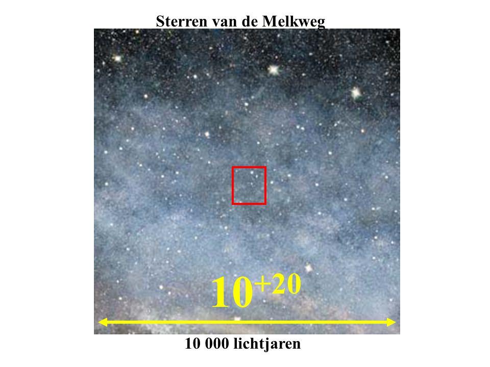 Sterren van de Melkweg 10+20 10 000 lichtjaren