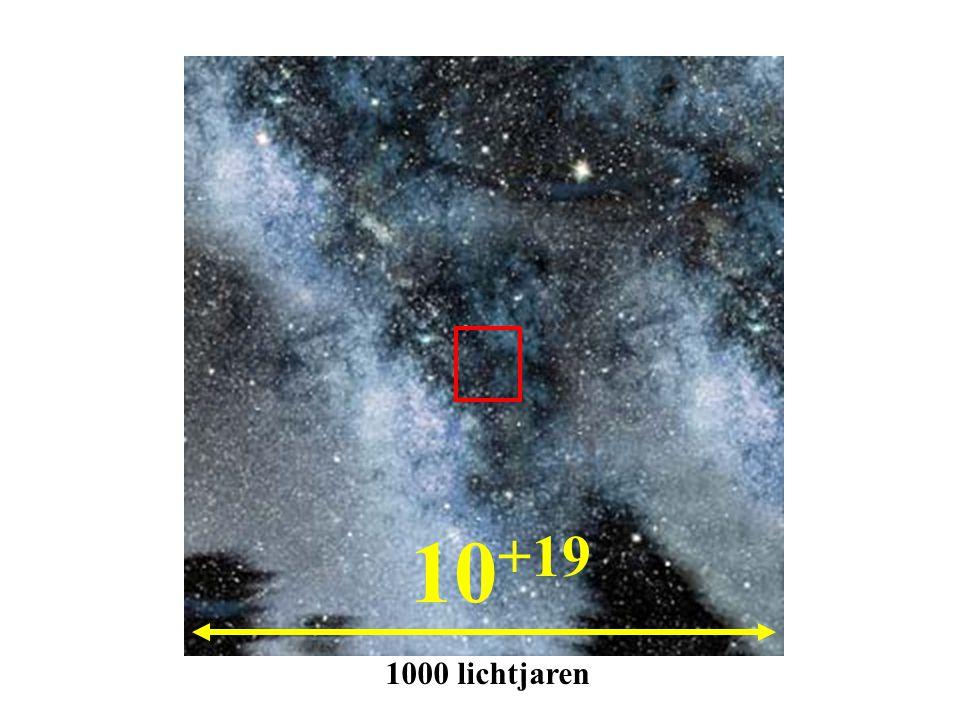 10+19 1000 lichtjaren