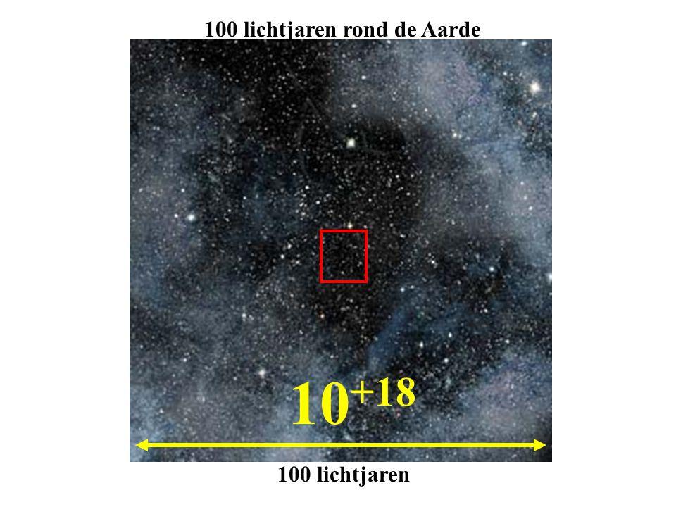 100 lichtjaren rond de Aarde
