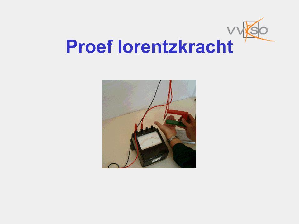 Proef lorentzkracht