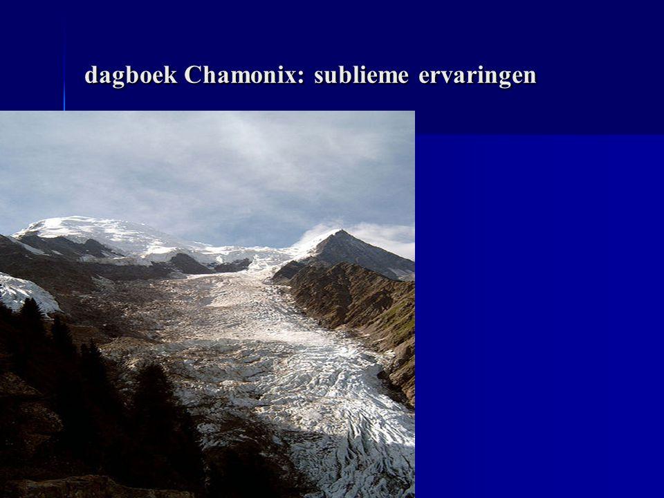 dagboek Chamonix: sublieme ervaringen