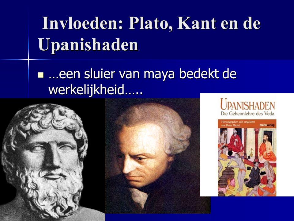 Invloeden: Plato, Kant en de Upanishaden