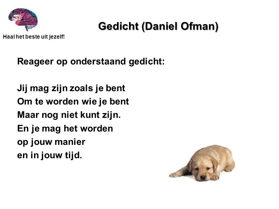 Gedicht (Daniel Ofman)