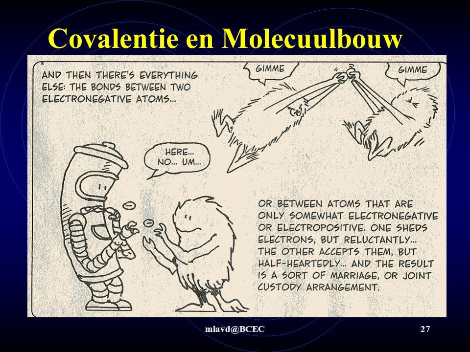 Covalentie en Molecuulbouw