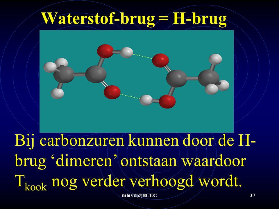 Waterstof-brug = H-brug