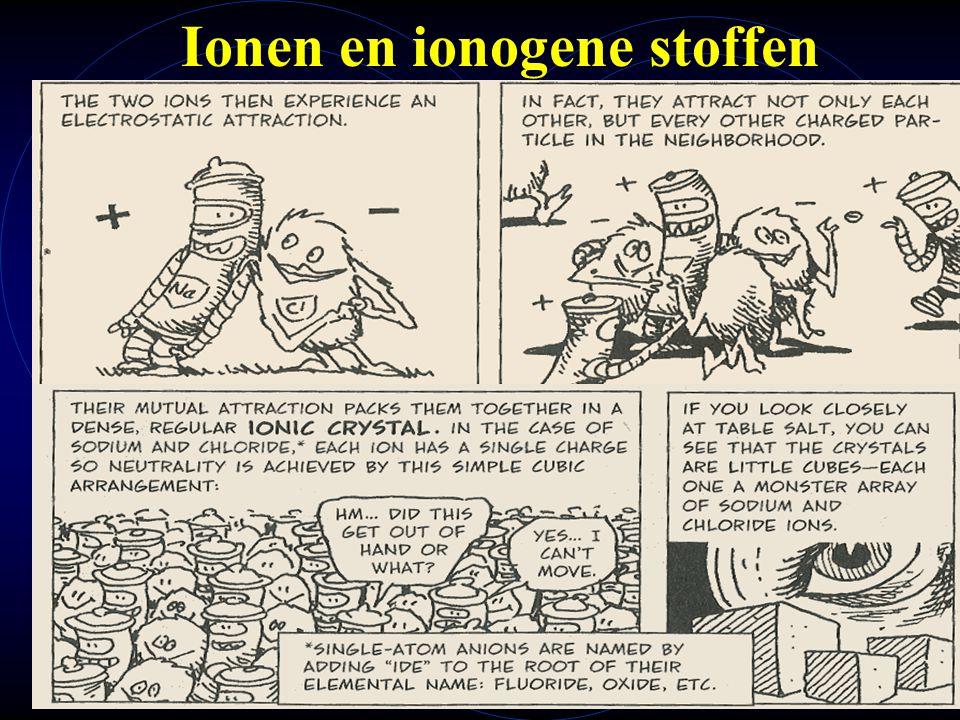 Ionen en ionogene stoffen