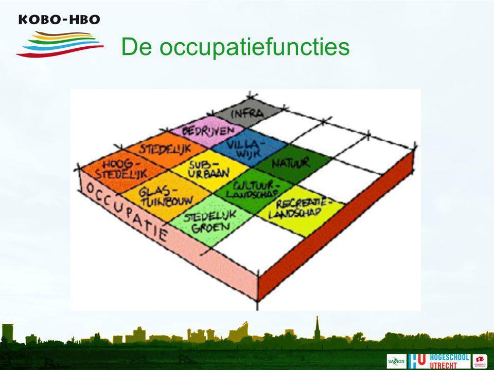 De occupatiefuncties