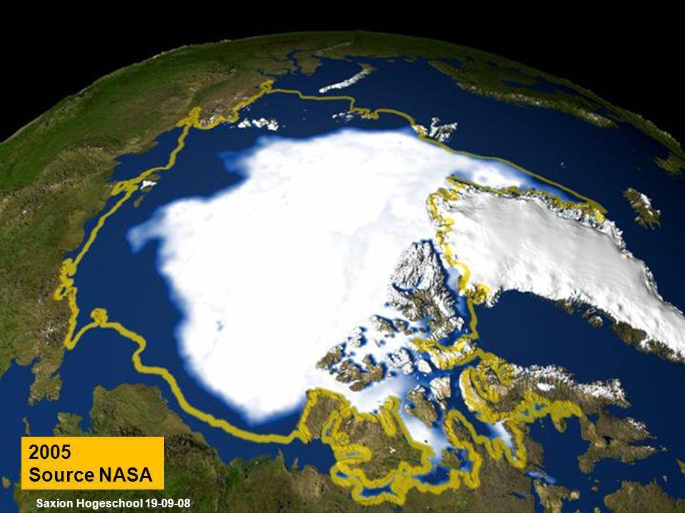 2005 Source NASA Saxion Hogeschool 19-09-08