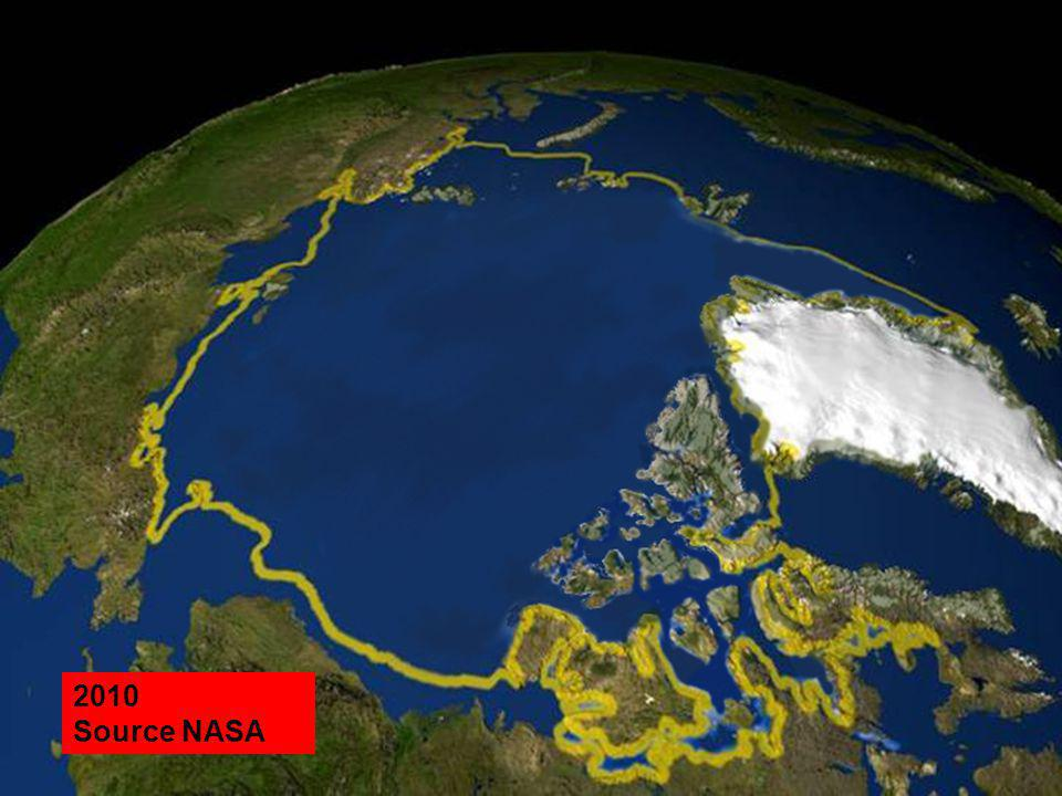 2010 Source NASA 2020 Source NASA 2040 Source NASA 2050 Source NASA
