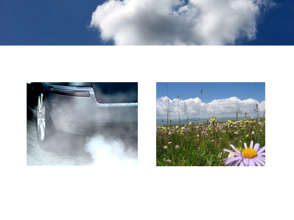 Met deze dia en de volgende kan je laten zien dat lucht vuil of schoon kan zijn