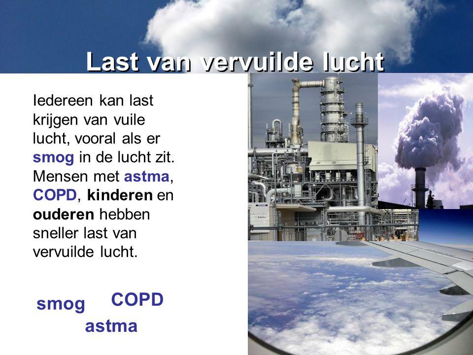Last van vervuilde lucht