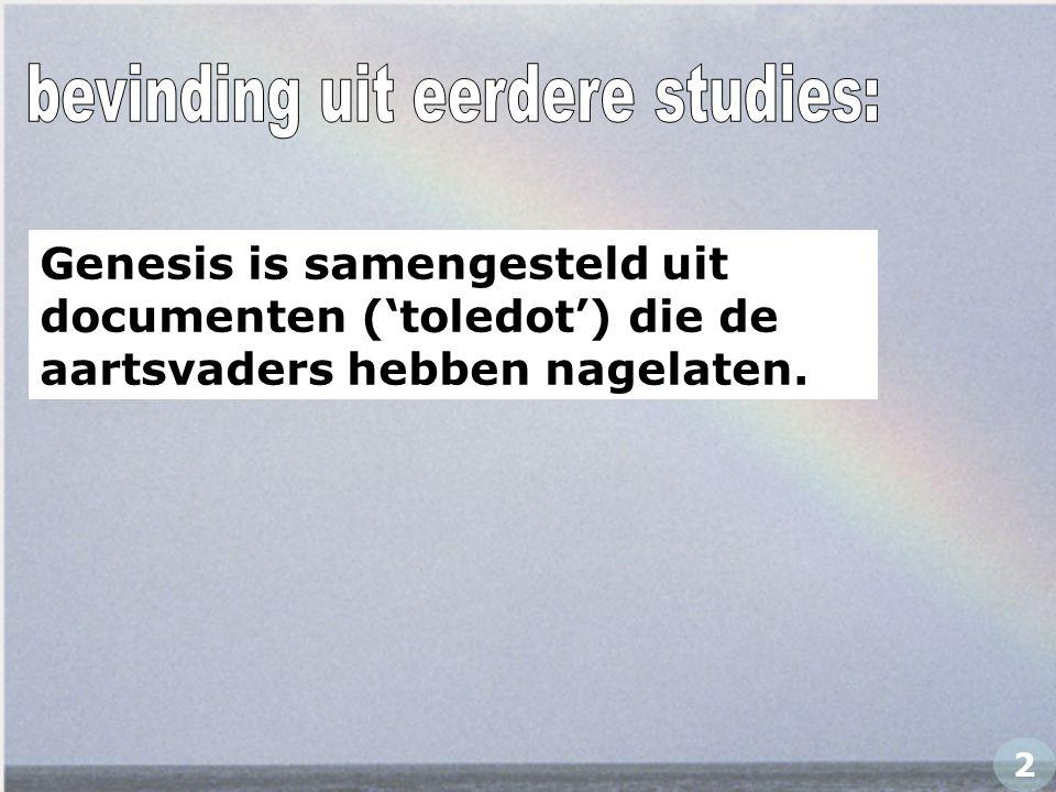 bevinding uit eerdere studies: