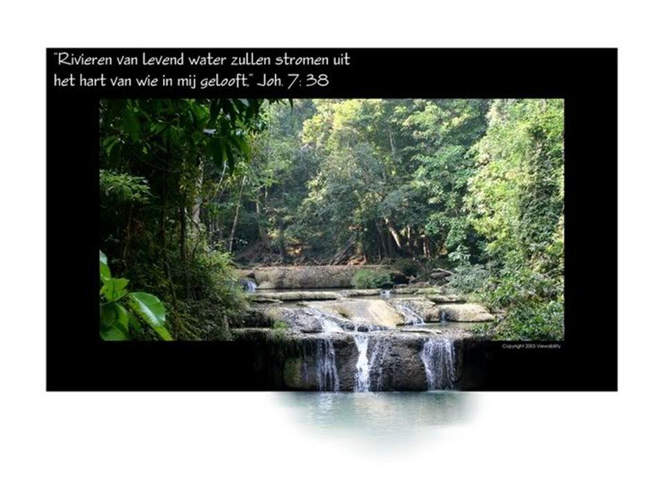 Tijdens een Joods feest, het Loofhuttenfeest, werd het moment herdacht dat Mozes water uit de rots liet komen en werd God gedankt dat Hij voorzag in water.
