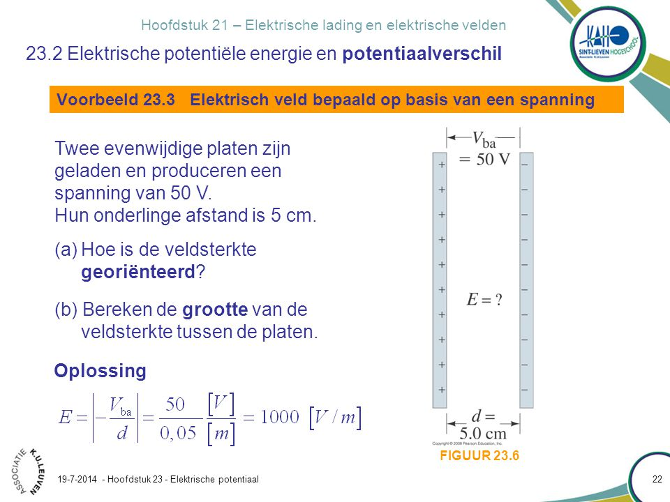 23.2 Elektrische potentiële energie en potentiaalverschil