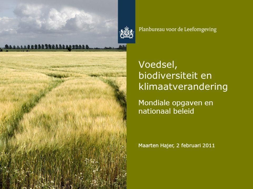 Voedsel, biodiversiteit en klimaatverandering