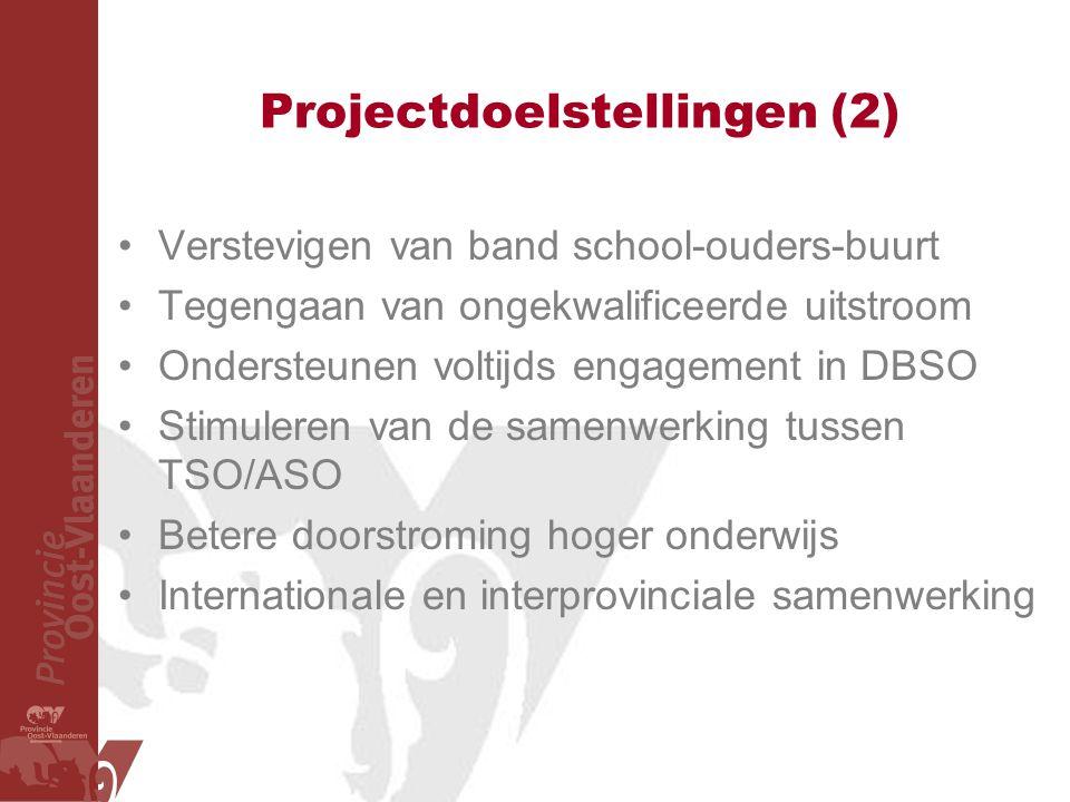 Projectdoelstellingen (2)
