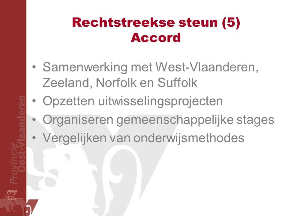 Rechtstreekse steun (5) Accord