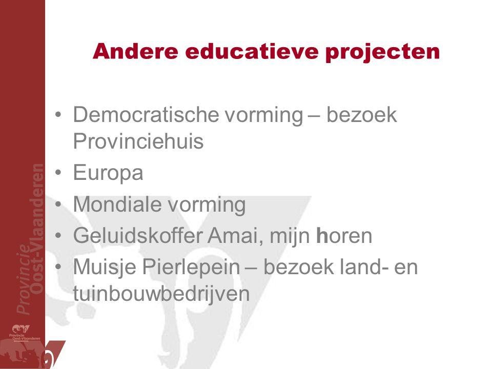 Andere educatieve projecten