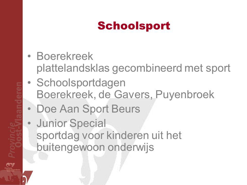 Schoolsport Boerekreek plattelandsklas gecombineerd met sport. Schoolsportdagen Boerekreek, de Gavers, Puyenbroek.