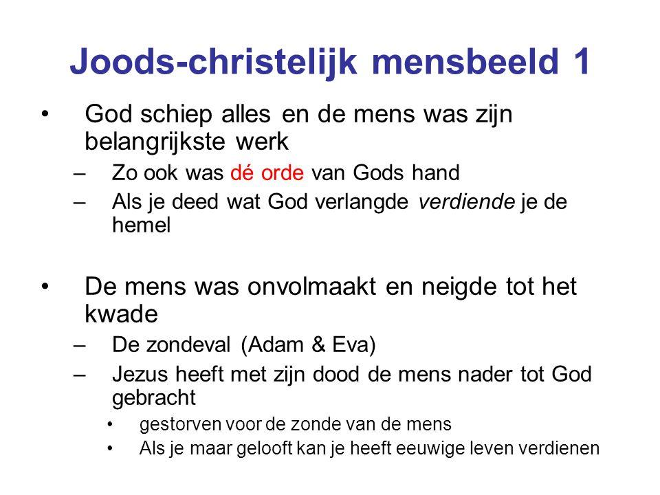 Joods-christelijk mensbeeld 1