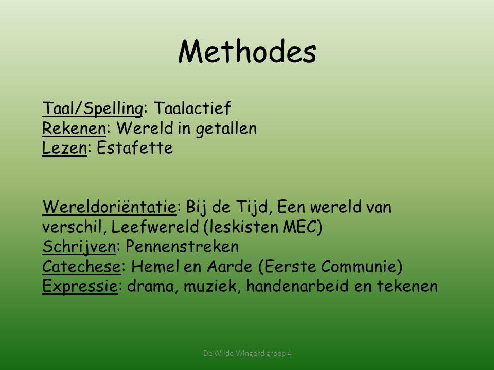 Methodes Taal/Spelling: Taalactief Rekenen: Wereld in getallen