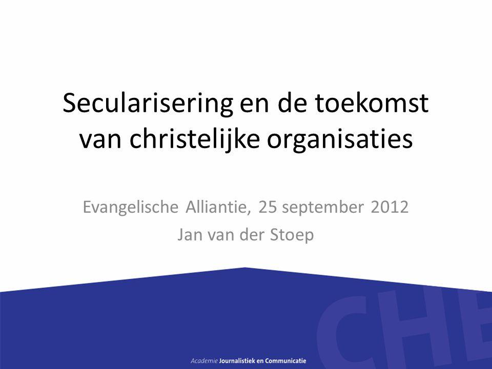 Secularisering en de toekomst van christelijke organisaties
