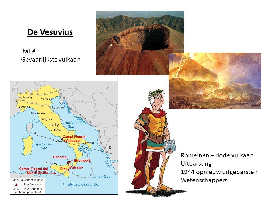 De Vesuvius Italië Gevaarlijkste vulkaan Romeinen – dode vulkaan