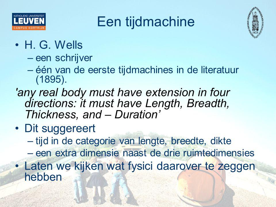 Een tijdmachine H. G. Wells