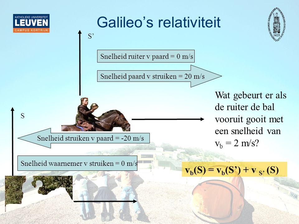 Galileo's relativiteit