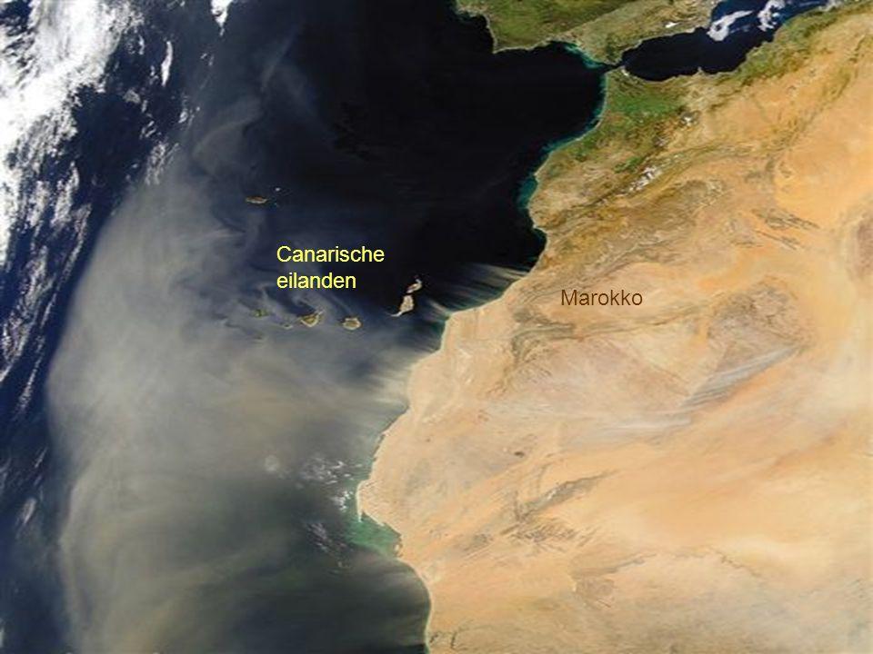 Canarische eilanden Marokko
