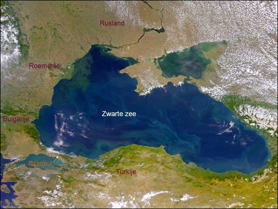 Rusland Roemenië Zwarte zee Bulgarije Istanbul Turkije
