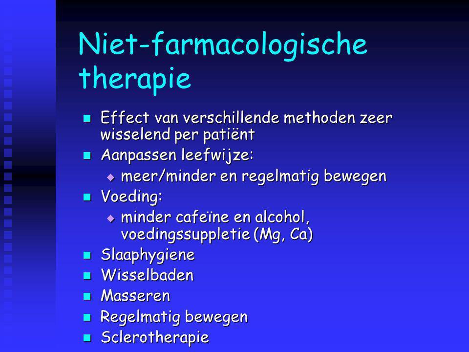 Niet-farmacologische therapie