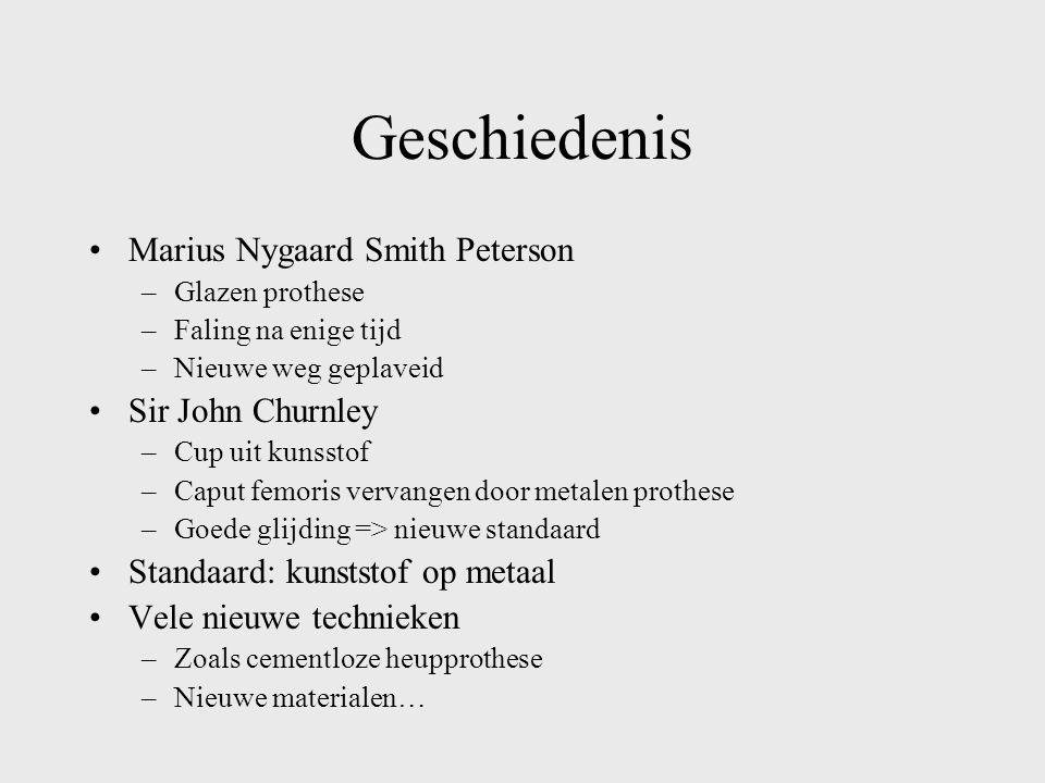 Geschiedenis Marius Nygaard Smith Peterson Sir John Churnley