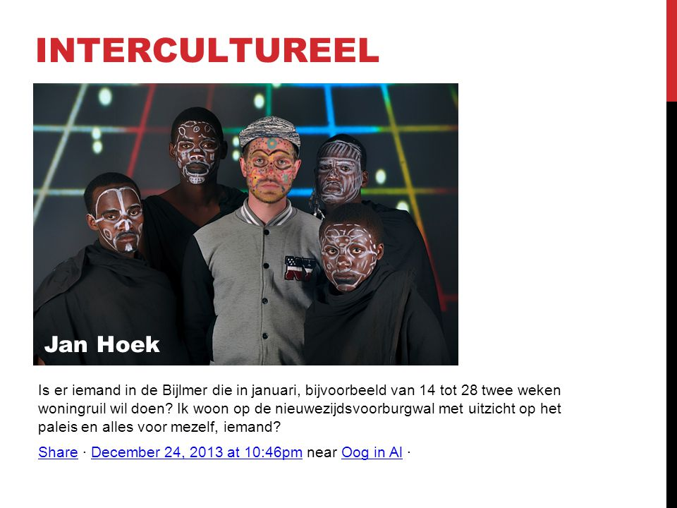 INTERCULTUREEL Jan Hoek