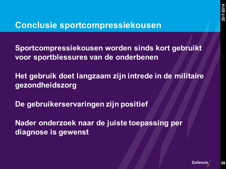 Conclusie sportcompressiekousen