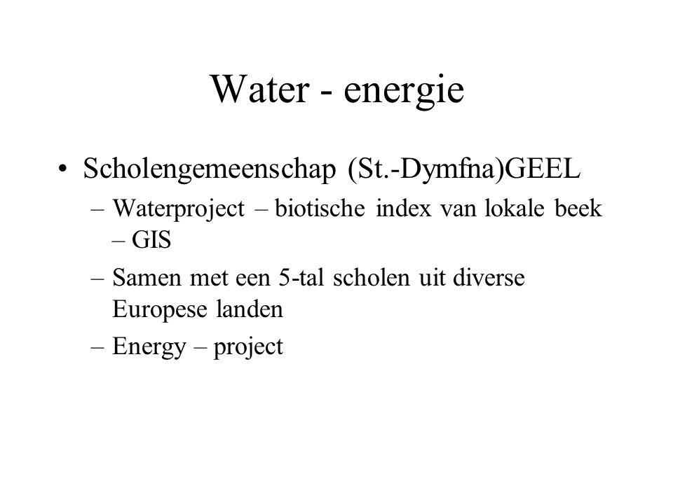 Water - energie Scholengemeenschap (St.-Dymfna)GEEL