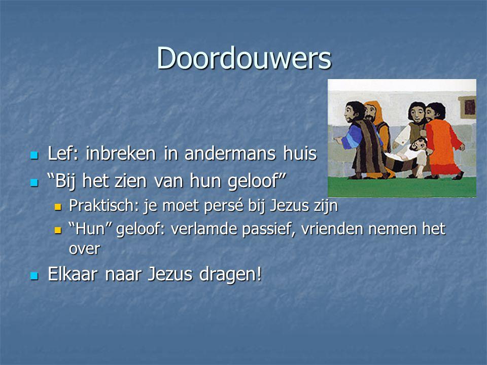Doordouwers Lef: inbreken in andermans huis
