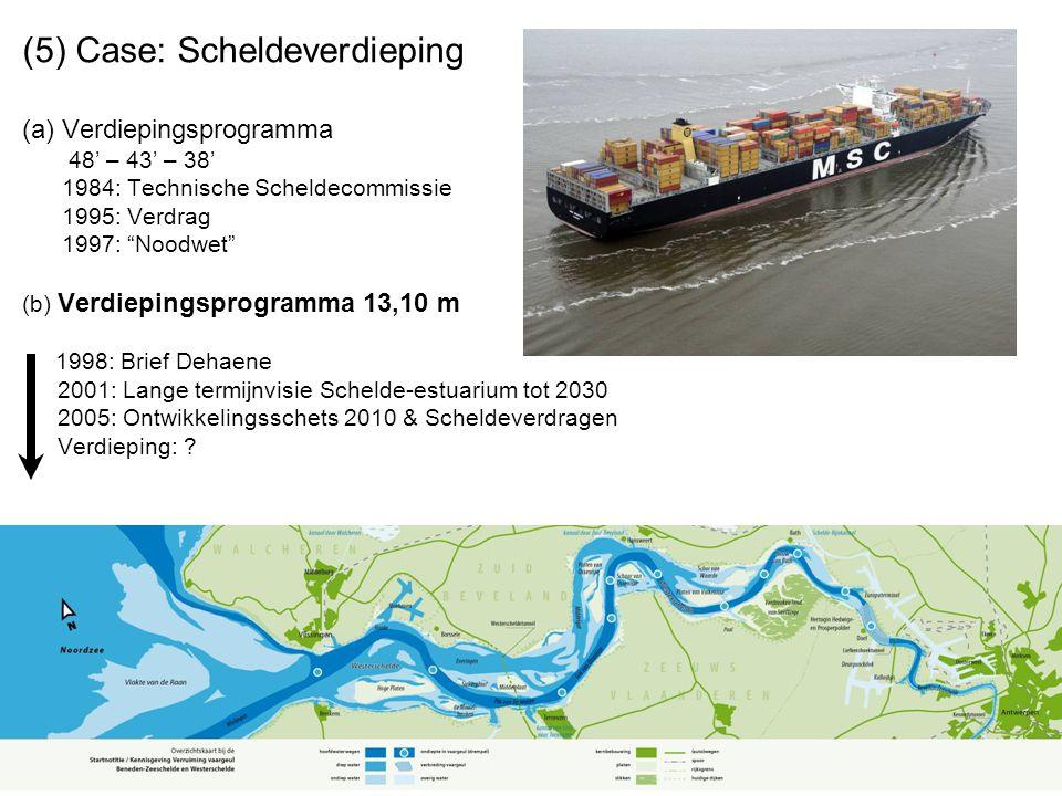 Maritiem goederentransport haven van Antwerpen volgens verschijningsvorm