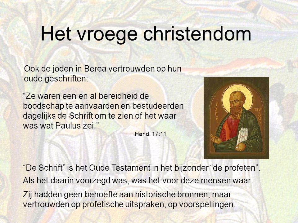Ook de joden in Berea vertrouwden op hun oude geschriften: