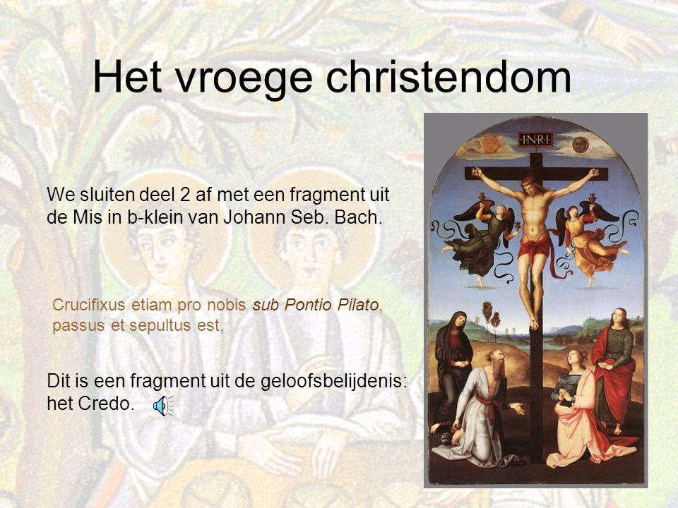 Dit is een fragment uit de geloofsbelijdenis: het Credo.