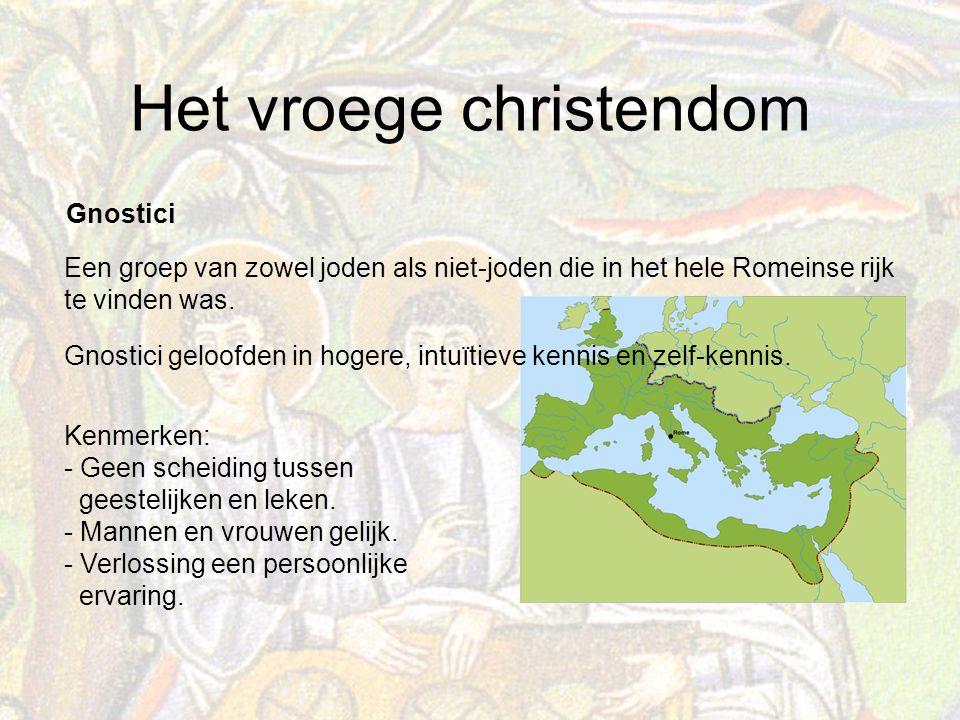 Gnostici Een groep van zowel joden als niet-joden die in het hele Romeinse rijk te vinden was.