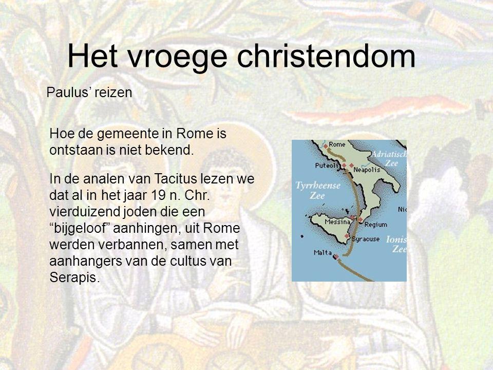 Paulus' reizen Hoe de gemeente in Rome is ontstaan is niet bekend.