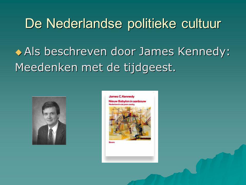De Nederlandse politieke cultuur