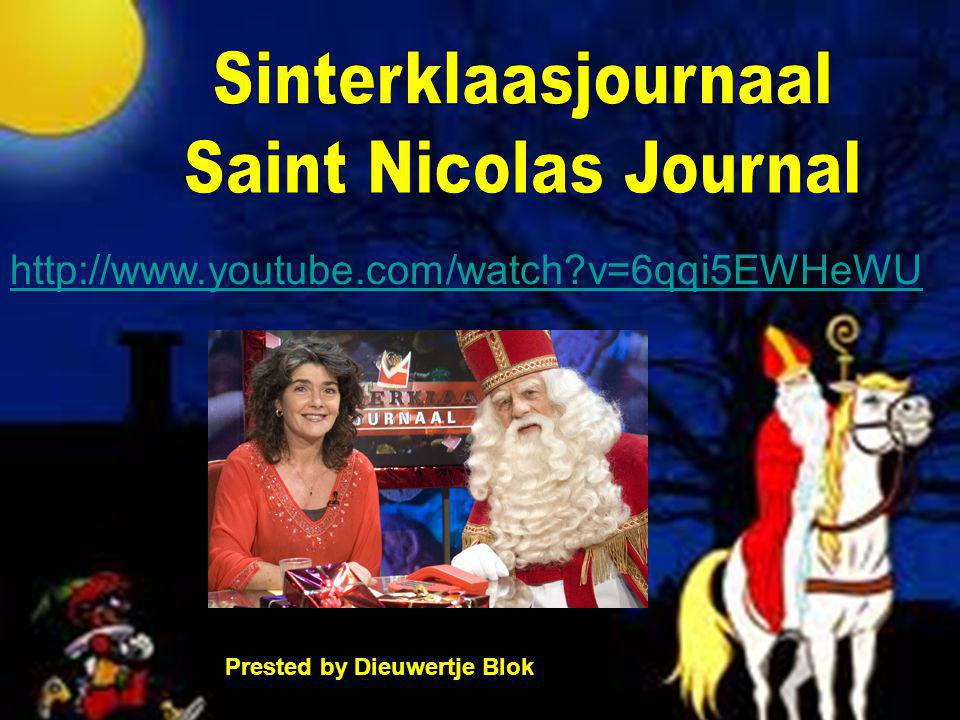 Sinterklaasjournaal Saint Nicolas Journal