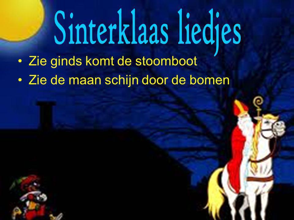 Sinterklaas liedjes Zie ginds komt de stoomboot