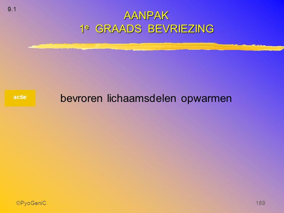 AANPAK 1e GRAADS BEVRIEZING