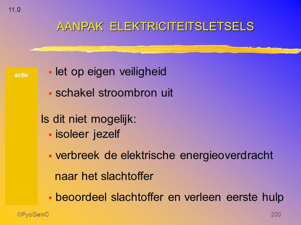 AANPAK ELEKTRICITEITSLETSELS