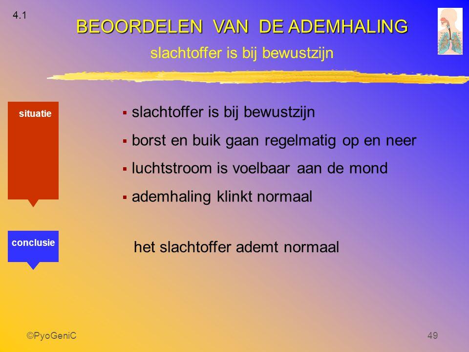 BEOORDELEN VAN DE ADEMHALING